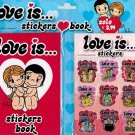 Love Is Stick Stack Stickers + Book Dynit