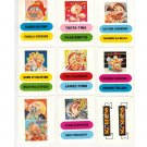 Garbage Pail Kids Holidays Special Stickers - Stickers Set Sgorbions