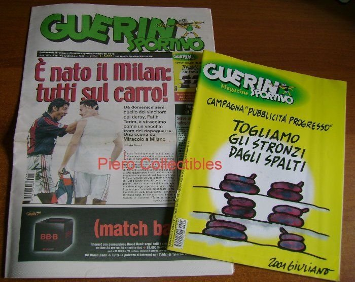 Guerin Sportivo 2001 no. 43 Milan