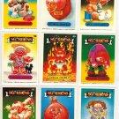 Garbage Pail Kids Lot 9 Cards Sgorbions I series GPK #C