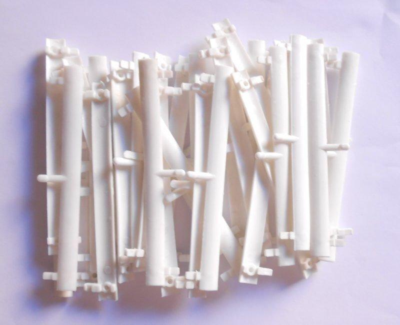 Lot 30 Guardrail Barriers 11.8cm for Slots