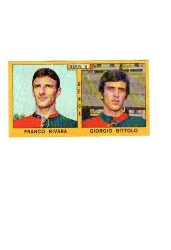 Calciatori 1969-70 Genoa Rivara Bittolo PANINI