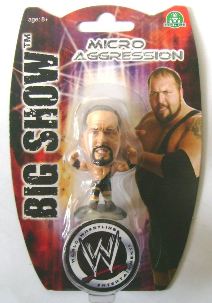 Micro Aggression BIG SHOW Figure Wrestling WWE