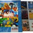 Marvel Heroes Preziosi Coll. Complete Set Stickers + Album