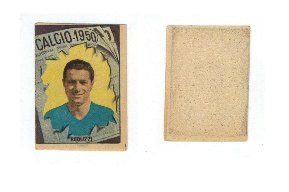 VAV Calcio 1950 - Italo Rebuzzi Sampdoria Sticker Card