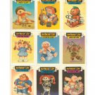 Garbage Pail Kids Holidays Special Stickers Iron-On Set Sgorbions