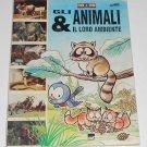 Animali e il Loro Ambiente Complete Album Stickers Animals Italian