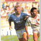 Programme Rangers - Valletta Champions Cup 1990