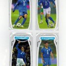South Africa 2010 Lot 4 Magnets Rossi Gilardino Danone World Cup