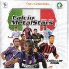Calcio Metal Stars 2010 Tags Empty Binder Preziosi