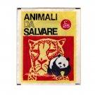 Animali da Salvare Sealed Pack Stickers Club 1972