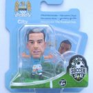 SoccerStarz Manchester City Alvaro Negredo Home Kit 2013-14