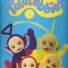 Teletubbies Empty Album Panini Poland