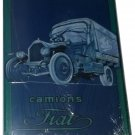 Advertising Tin Sign Plate Hachette Camions FIAT + Magazine