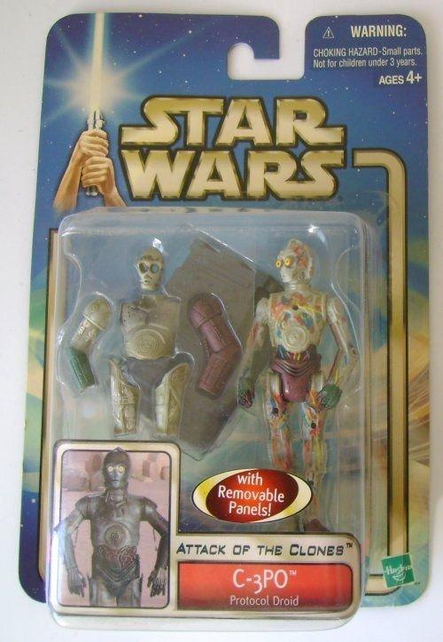Star Wars Attack Clones Figure C-3PO Protocol Droid