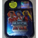 Match Attax Champions League 2016-2017 Mini Tin Box Ramos Silver