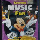 Extreme Music Fun DVD Disney Mickey Donald Goofy