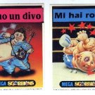 Garbage Pail Kids Mega Cards 2nd Stickers Set Variations