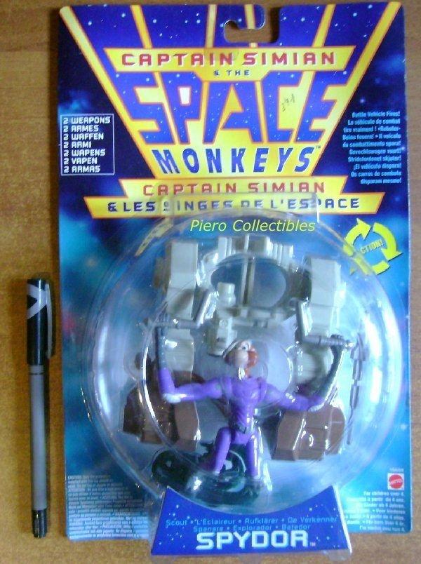 Space Monkeys Action Figure Spydor Mattel