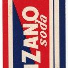 Bookmark Garzanti Serie Gialla - Cinzano Soda Life Savers Motta