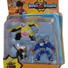 Invizimals 3-pack Figures Xiong Mao Gryphon Trucktor + Cards