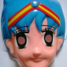 Sailor Moon Mask with Elastic Vintage Sailor Mercury