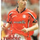 Robbie Mustoe FC Middlesbrough Signed Photo Card