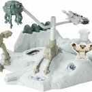 Hot Wheels Star Wars Hoth Echo Base Battle Playset Snowspeeder