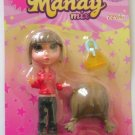 Mandy Mix Up Brown Hair Mini Figure Doll Newlinks