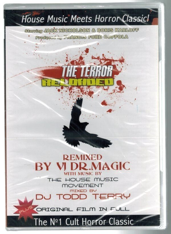 The Terror Reloaded DVD House Music Meets Horror Classic Various Artists