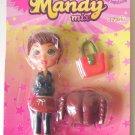 Mandy Mix Up Red Hair Mini Figure Doll Newlinks