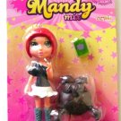 Mandy Mix Up Red/Brown Hair Mini Figure Doll Newlinks