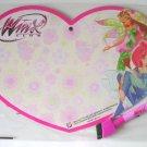 Winx Club Heart Shaped Drawing Board + Marker