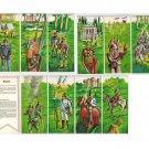 Carte Magiche Motta Storia delle Divise Lot 10 cards