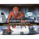 Spider-Man 3 Preziosi Box 12 Flowpacks Stickers + 3D Figures