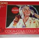 Coca Cola Jigsaw Puzzle 1500 Pieces Girl Pilot Aviation Woman