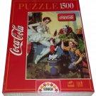 Coca Cola Educa Jigsaw Puzzle 1500 Pieces Circus Clown Ballerina