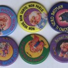 Garbage Pail Kids Metal Pins - Lot of 10 Sgorbions GPK