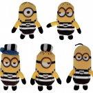Despicable Me 3 Minions Jailbreak Set 5 Plush Toys