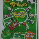 Rabbids Invade Football Sealed Pack 3D Figure Cards
