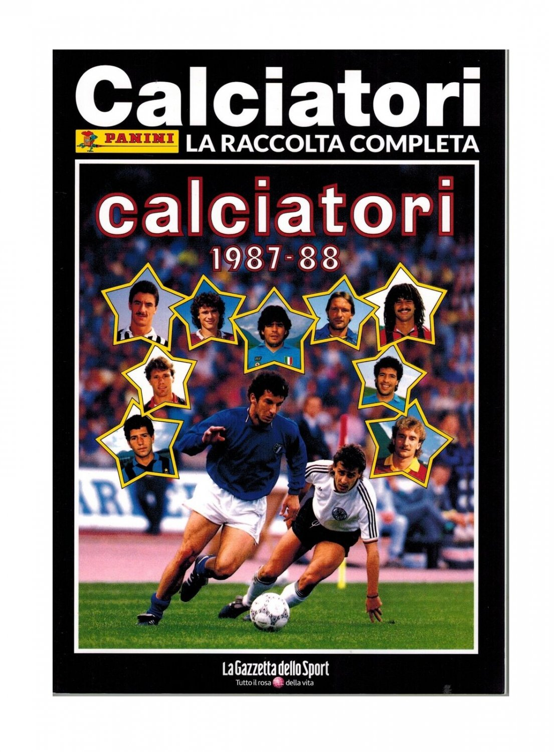 Calciatori 1987-88 Reprint Album Gazzetta Sport 2018 edition