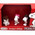 Schleich Peanuts Snoopy's Siblings Scenery Pack Figures 22058