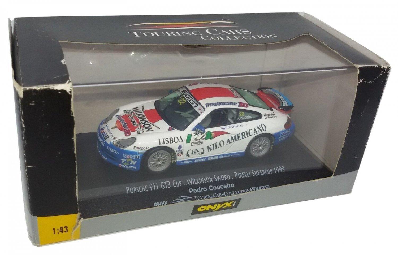 Onyx Touring 1/43 Porsche 911 GT3 Cup Couceiro Wilkinson