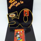 Topolino Sempre con te 50 - Pop-up Folder 2 Pins Mickey Mouse