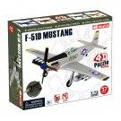 4D Master 1/72 F-51D Mustang USAF Model Kit Puzzle