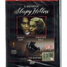 Il Mistero di Sleepy Hollow DVD Tim Burton Johnny Depp