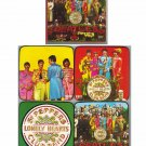 The Beatles Sgt. Pepper's Set of 4 Coasters