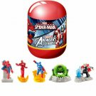 Ultimate Spider-Man Avengers Set 5 Mini Figures Zuru Capsule