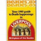 Beatles Guide 1985 Beatle Happenings in Liverpool