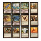 Magic The Gathering 12 Cards Mirage MTG Multicolor 1996